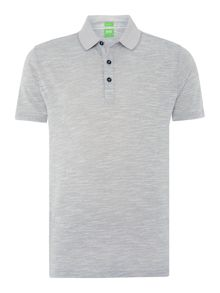 Hugo Boss C-rapino regular fit space dye polo shirt
