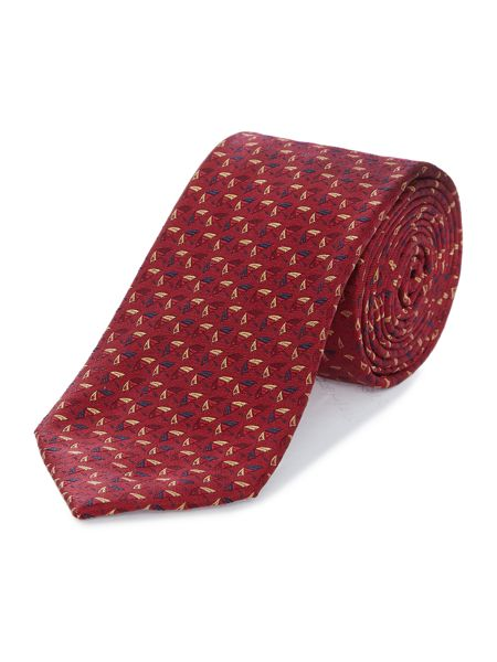 Howick Tailored Dedham umbrella jaquard tie