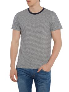 Denim and Supply Ralph Lauren Regular fit contrast neck t shirt
