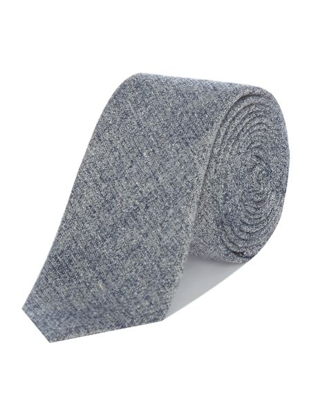 Kenneth Cole Quentin textured chambre look tie