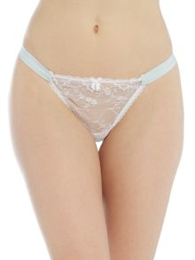 Mimi Holliday I do lace thong