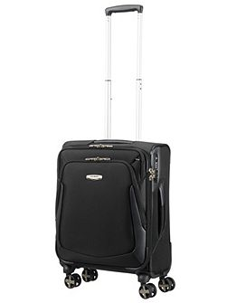 X-Blade 3.0 black 8 wheel 55cm cabin suitcase
