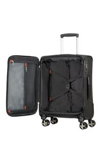 Samsonite X-Blade 3.0 black 8 wheel 55cm cabin suitcase