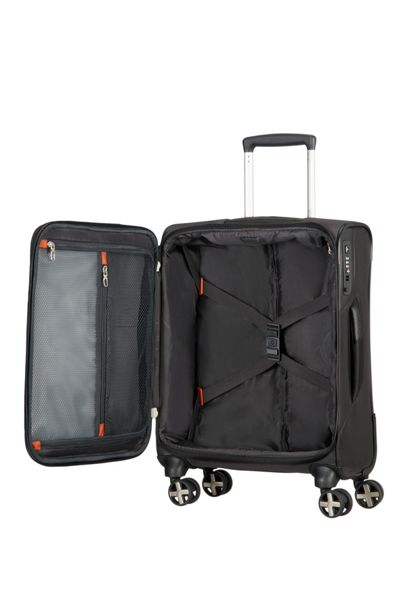 Samsonite X-Blade 3.0 black 8 wheel 63cm medium suitcase