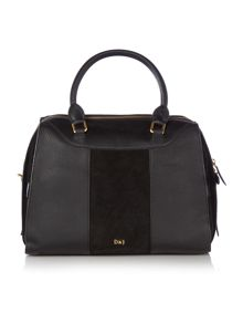 Dickins & Jones Flocky bowler handbag