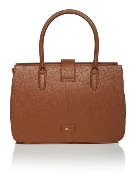 Dickins & Jones Tamsin triple compartment handbag