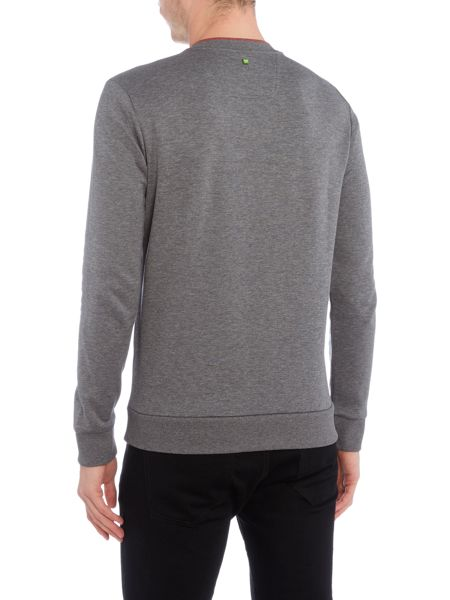 Hugo Boss Salbo crew neck logo sweat top