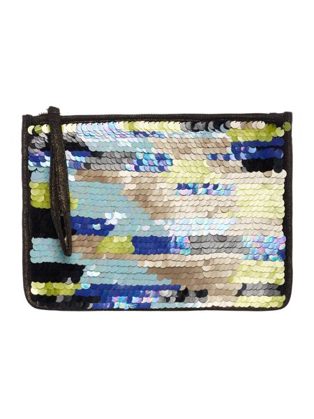 Dickins & Jones Sequin pouch