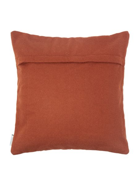 Living by Christiane Lemieux Felt geo embroidered cushion
