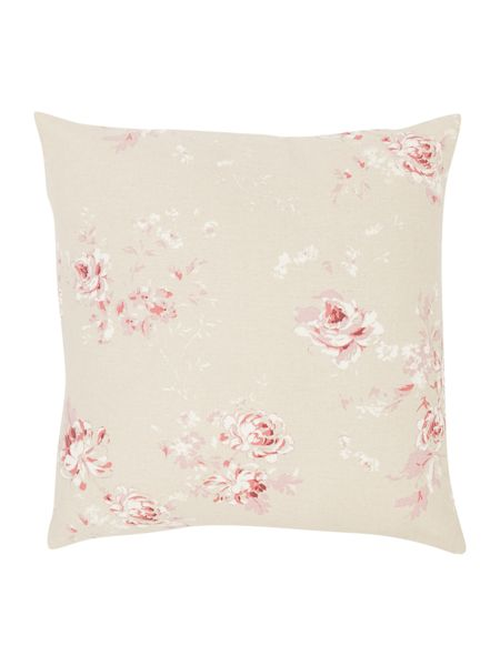 Shabby Chic Vintage rose print cushion