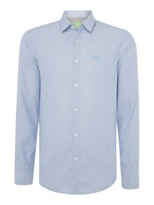 Hugo Boss C-buster fine stripe long sleeve shirt