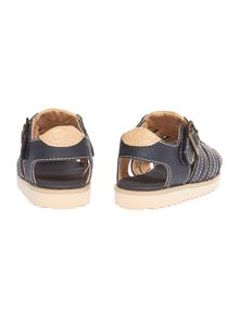 UGG Boys Leather Buckle Sandle