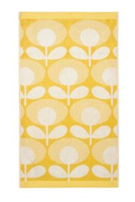 Orla Kiely Speckled Flower Oval Towel
