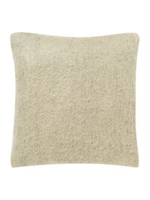 Gray & Willow Brushed herringbone cushion