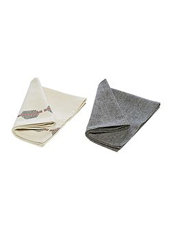 Global artisan napkins set of 4
