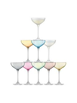 Tower Champagne Set Assorted x 10