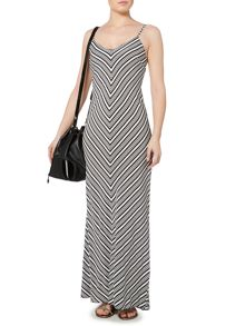 Therapy Bethany Bar-Back Maxi Dress
