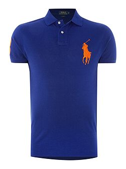 Big polo player slim fit polo