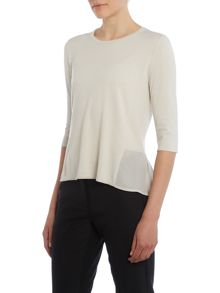 Max Mara Mastro sleeveless layered top