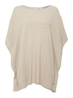 Brae knitted cape