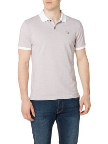 Gant Oxford Pique Contrast Collar Polo Shirt