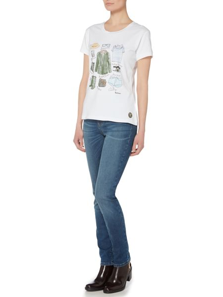 Barbour Brae travel tee