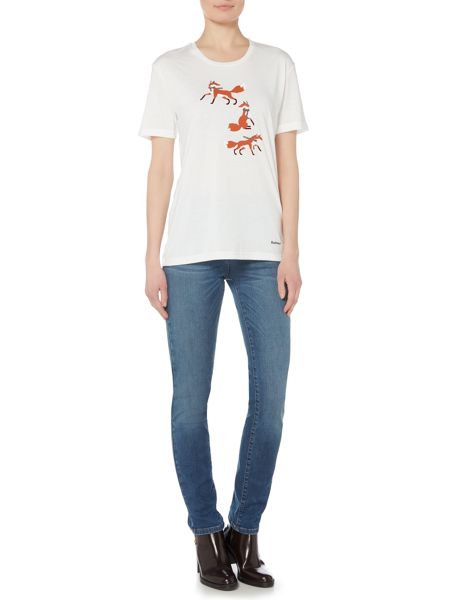 Barbour Brae fox tee