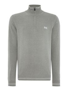 Hugo Boss Zime half zip funnel neck sweater