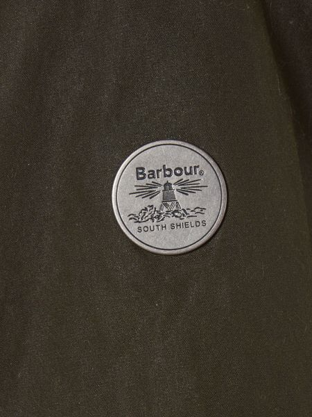 Barbour Brae hooded wax parka