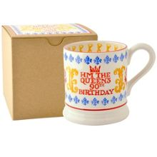 Emma Bridgewater Queen`s Birthday 1/2pt Mug Boxed