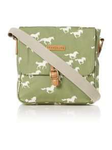 Brakeburn Horses Cross Body Bag