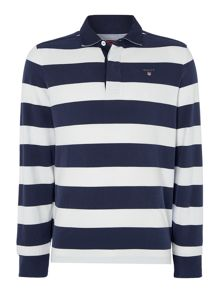 Gant Bar Stripe Rugby Shirt