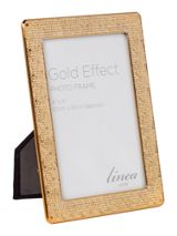 Linea Gold honeycomb frame 4x6