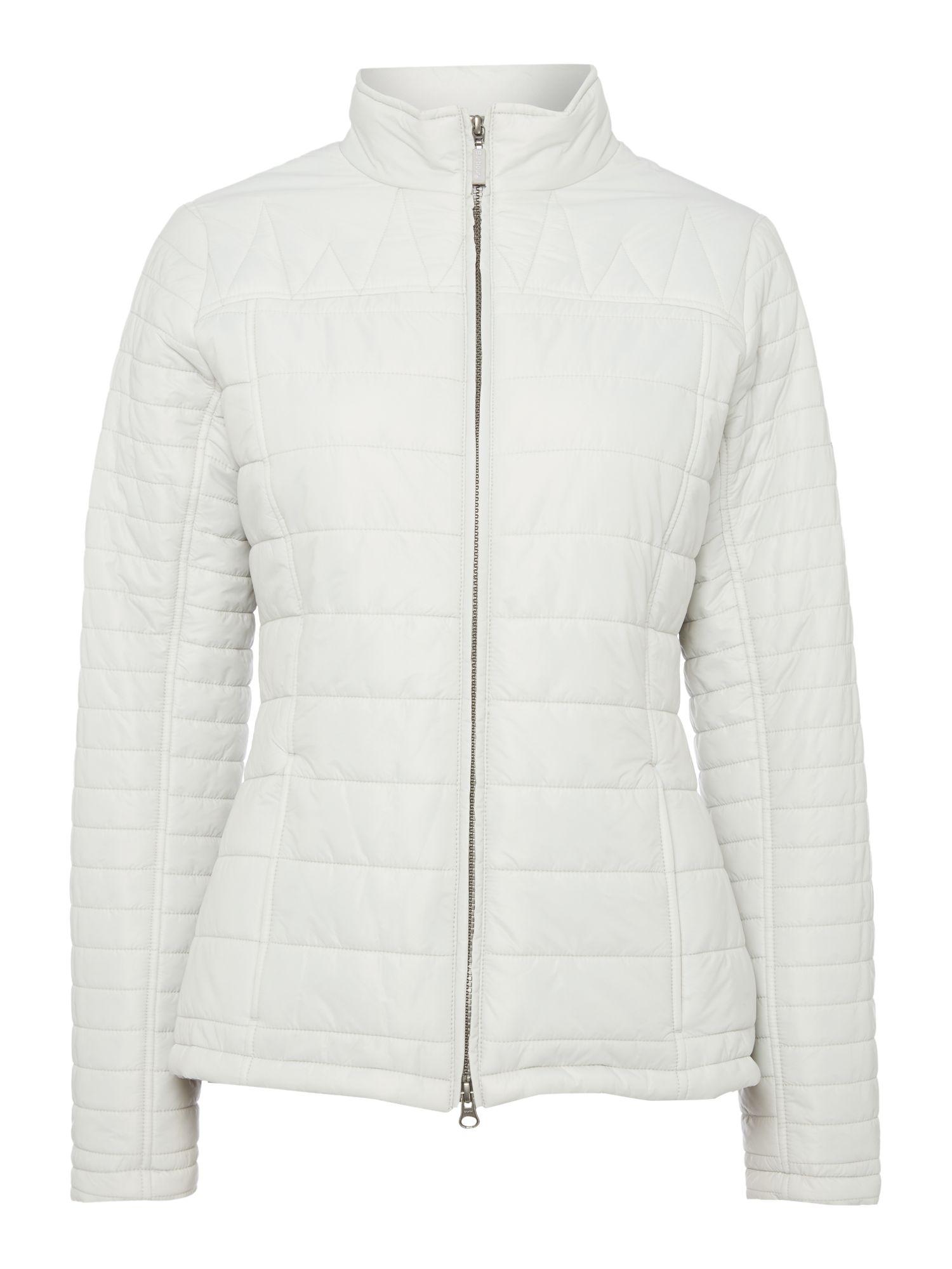 Barbour Brae Quilted Jacket, Pearl