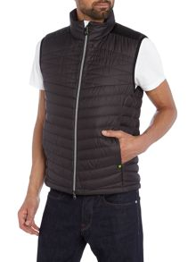 Hugo Boss Vakabo sleeveless padded zip through gilet