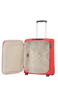 Samsonite Base hits red 2 wheel 50cm cabin suitcase