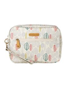 Brakeburn Sketchy Leaves Wash Bag