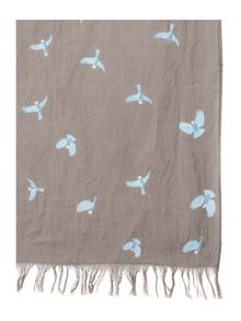 Brakeburn Scattered Bird Scarf