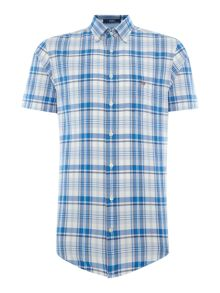 Gant Check Short Sleeve Shirt