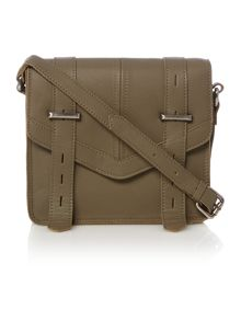 Label Lab Finn strap detail crossbody bag