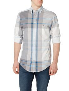 Gant Large Windowpance Check Long Sleeve Shirt