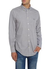 Gant Gingham Long Sleeved Dobby Shirt