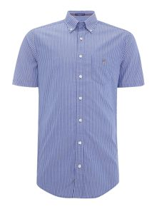 Gant Broadcloth Poplin Short Sleeve Shirt