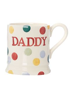 Polka Dot Daddy 1/2 Pint Mug