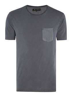 Rhino Sateen Pocket and Back Tee