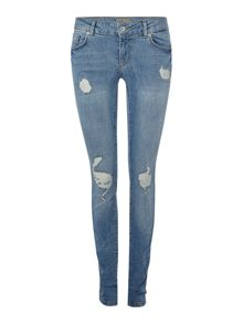 Vero Moda Low Waisted Super Slim Jeans