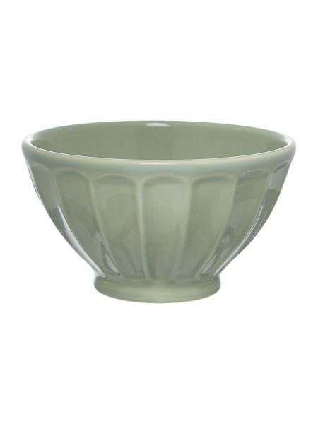 Dickins & Jones Scallop bowl mint