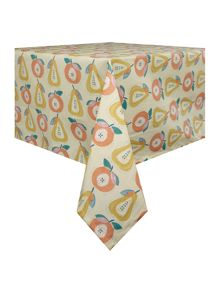 Dickins & Jones Apples and Pears oil cloth