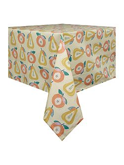 Apples and Pears oil cloth