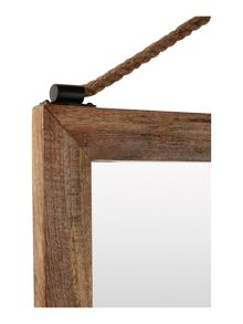 Linea Ola Hanging With Rope Mirror